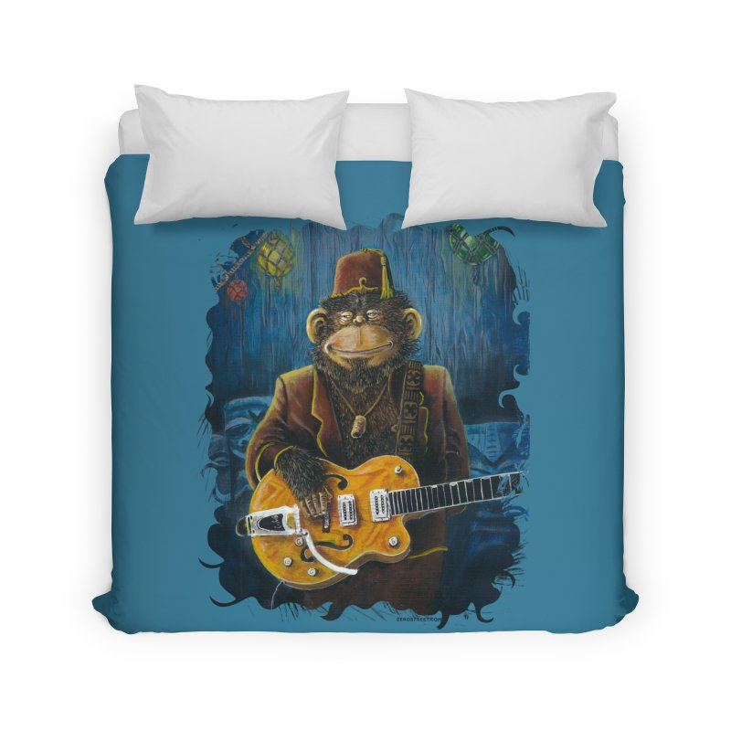 Dusty's Gig Home Duvet by Zero Street's Artist Shop