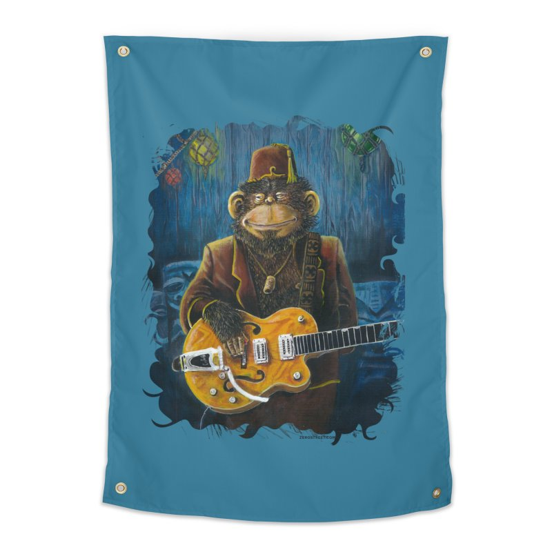 Dusty's Gig Home Tapestry by Zero Street's Artist Shop