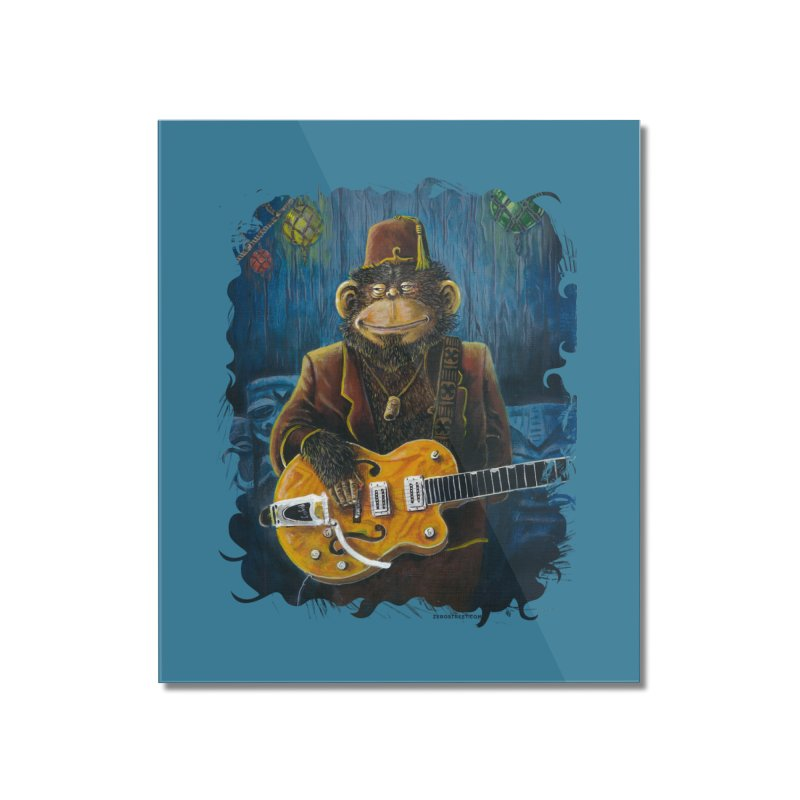 Dusty's Gig Home Mounted Acrylic Print by Zerostreet's Artist Shop