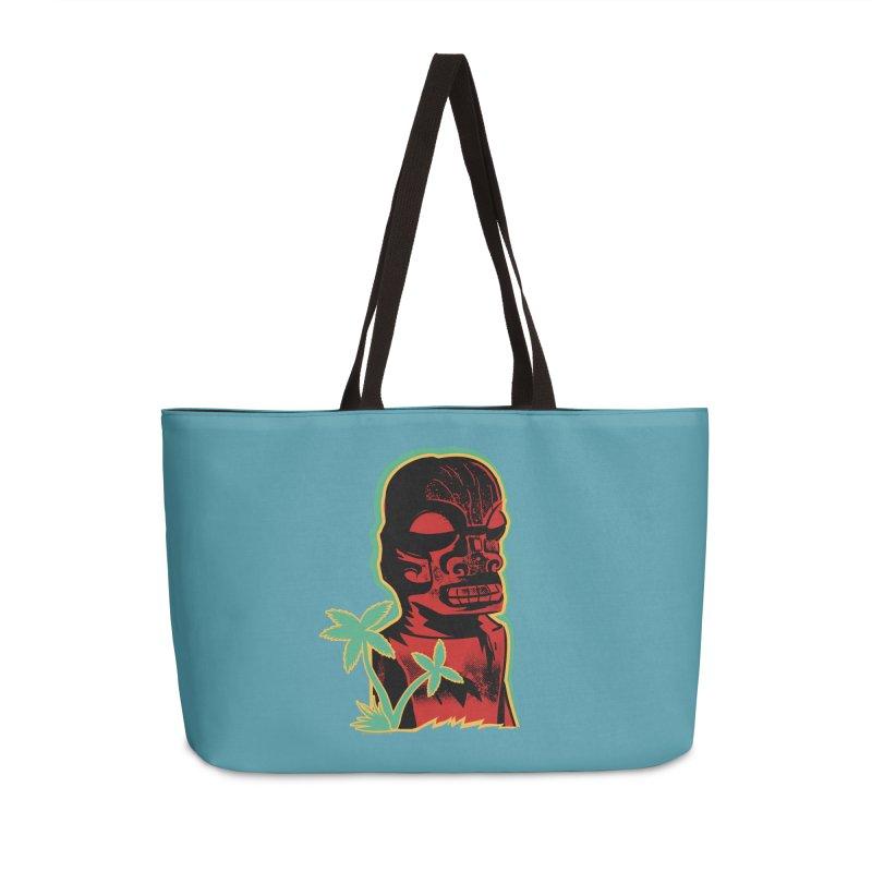 Marquesan #4 Accessories Weekender Bag Bag by Zero Street's Artist Shop
