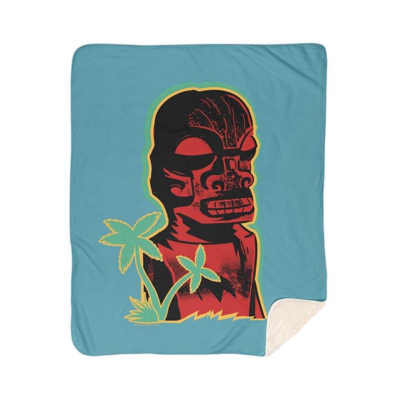 Marquesan #4 Home Sherpa Blanket Blanket by Zerostreet's Artist Shop