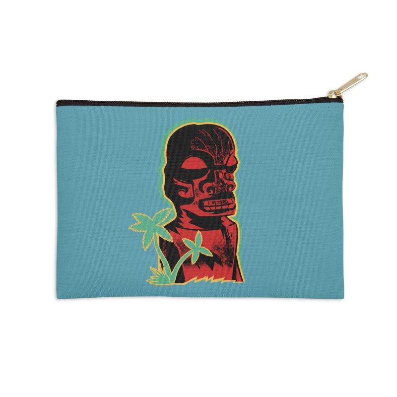 Marquesan #4 Accessories Zip Pouch by Zerostreet's Artist Shop