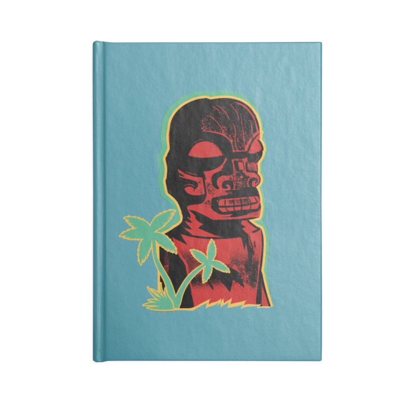 Marquesan #4 Accessories Lined Journal Notebook by Zero Street's Artist Shop