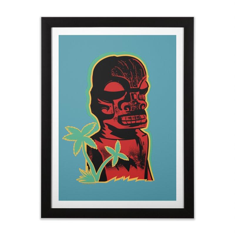 Marquesan #4 Home Framed Fine Art Print by Zerostreet's Artist Shop
