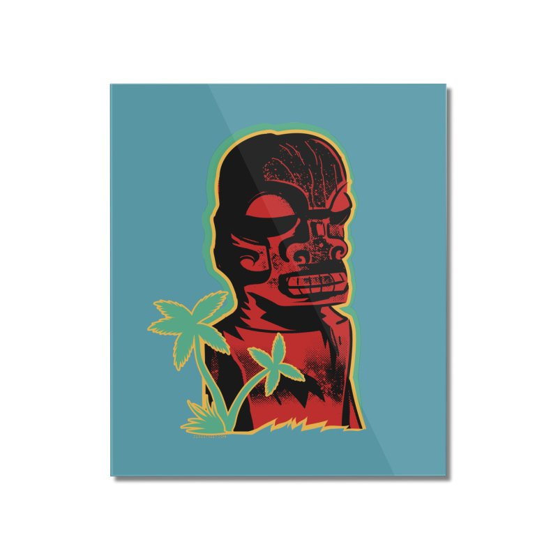 Marquesan #4 Home Mounted Acrylic Print by Zerostreet's Artist Shop