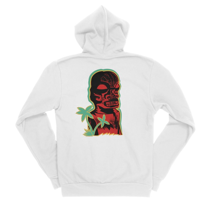 Marquesan #4 Men's Sponge Fleece Zip-Up Hoody by Zero Street's Artist Shop