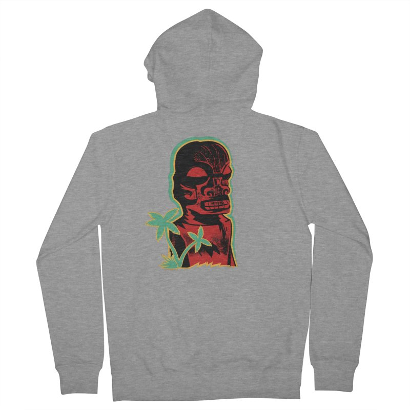 Marquesan #4 Women's French Terry Zip-Up Hoody by Zero Street's Artist Shop