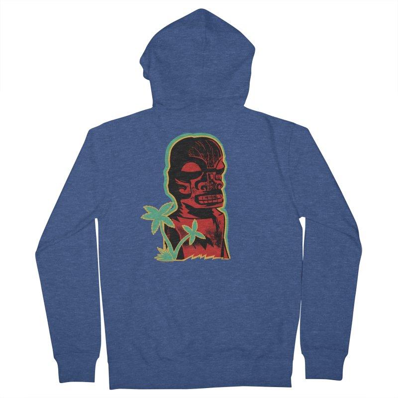 Marquesan #4 Men's French Terry Zip-Up Hoody by Zero Street's Artist Shop