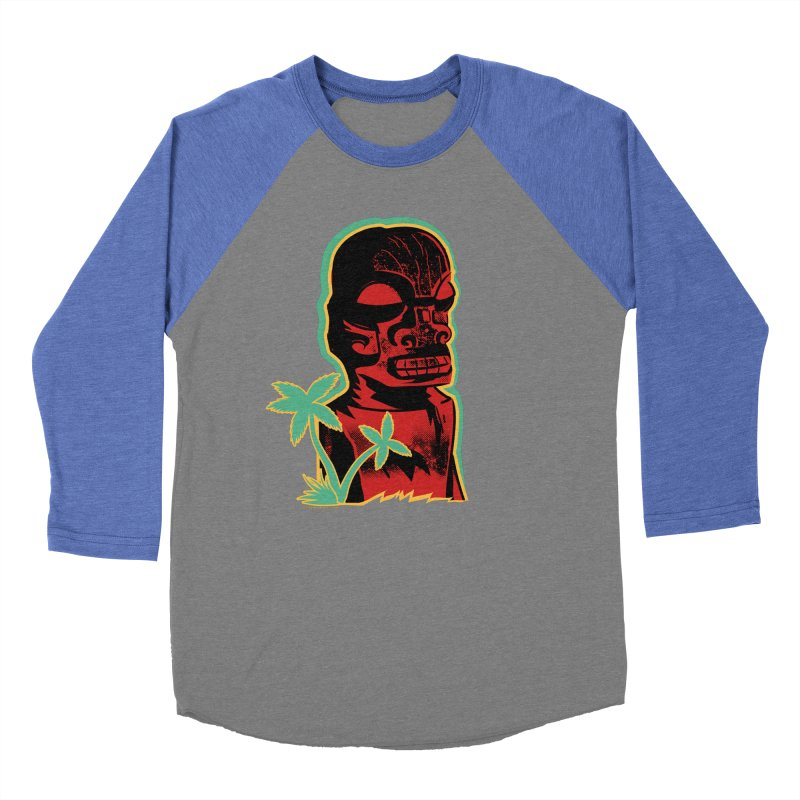 Marquesan #4 Men's Baseball Triblend Longsleeve T-Shirt by Zerostreet's Artist Shop
