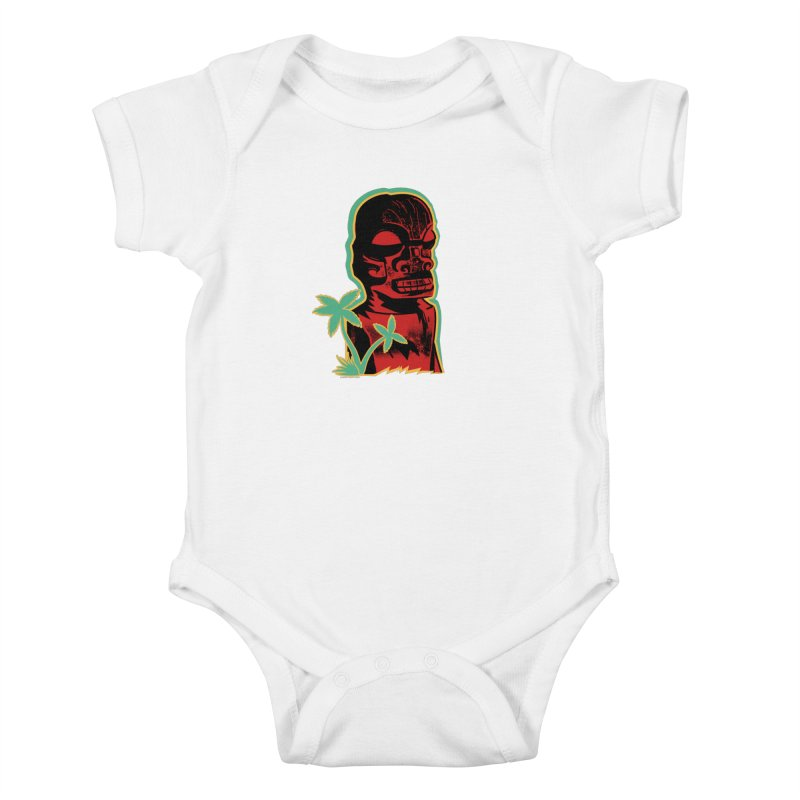 Marquesan #4 Kids Baby Bodysuit by Zero Street's Artist Shop