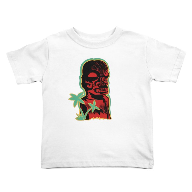 Marquesan #4 Kids Toddler T-Shirt by Zerostreet's Artist Shop