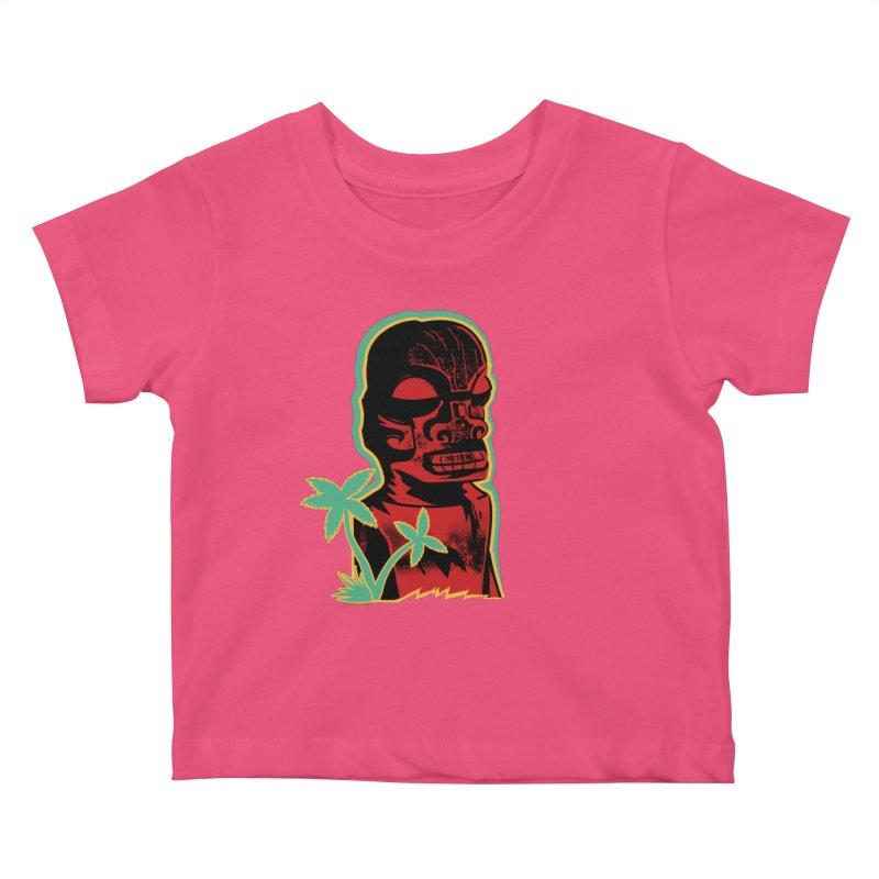 Marquesan #4 Kids Baby T-Shirt by Zero Street's Artist Shop