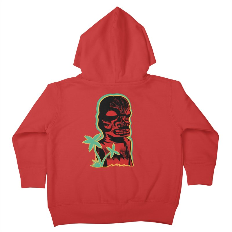 Marquesan #4 Kids Toddler Zip-Up Hoody by Zerostreet's Artist Shop