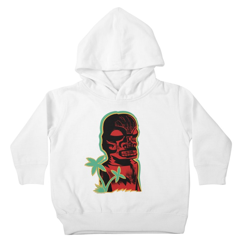 Marquesan #4 Kids Toddler Pullover Hoody by Zero Street's Artist Shop