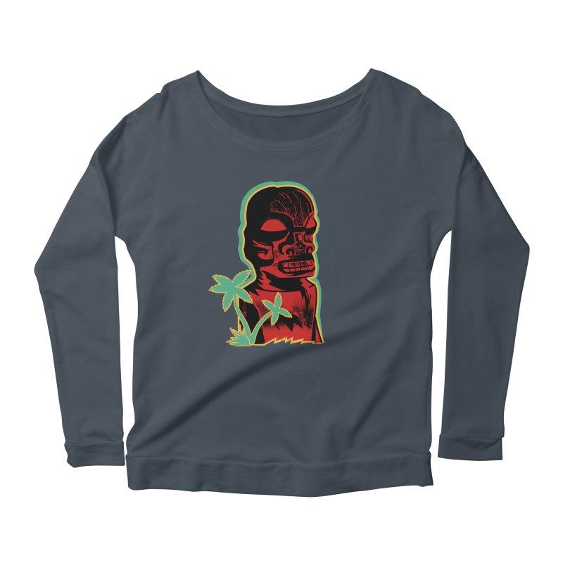 Marquesan #4 Women's Scoop Neck Longsleeve T-Shirt by Zerostreet's Artist Shop