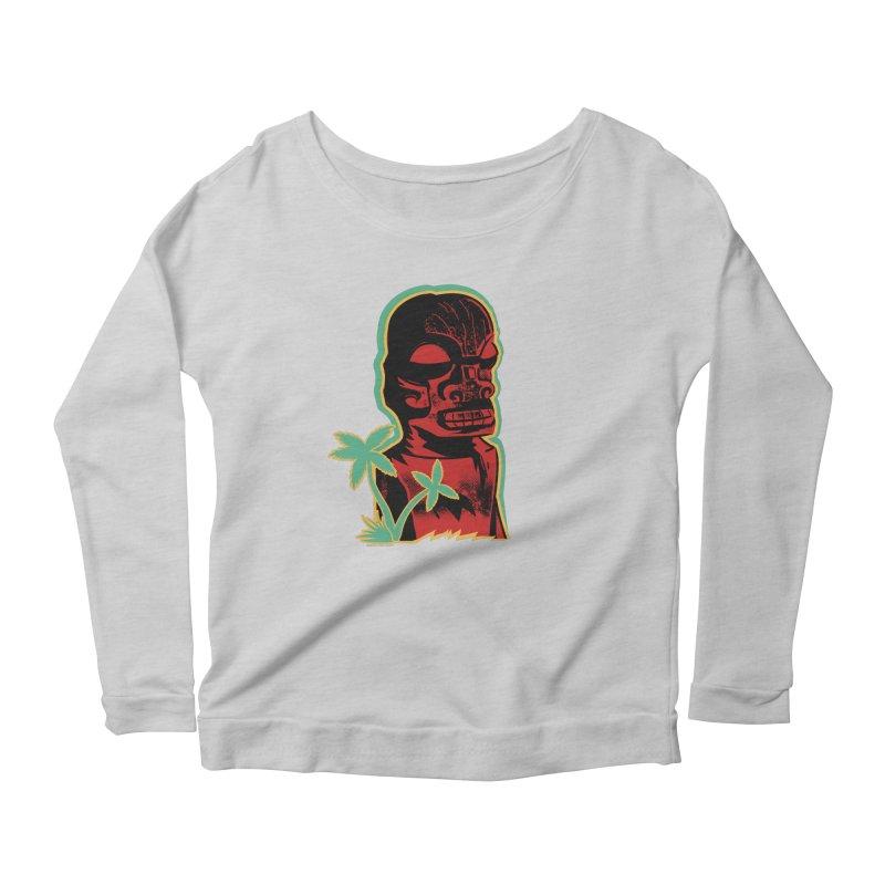 Marquesan #4 Women's Scoop Neck Longsleeve T-Shirt by Zero Street's Artist Shop