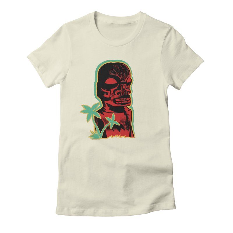 Marquesan #4 Women's Fitted T-Shirt by Zero Street's Artist Shop