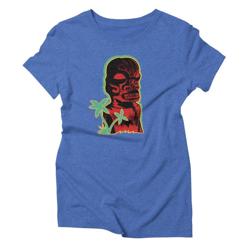 Marquesan #4 Women's Triblend T-Shirt by Zerostreet's Artist Shop