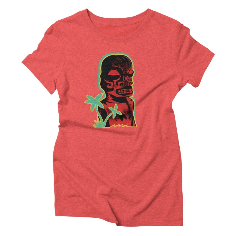 Marquesan #4 Women's Triblend T-Shirt by Zero Street's Artist Shop