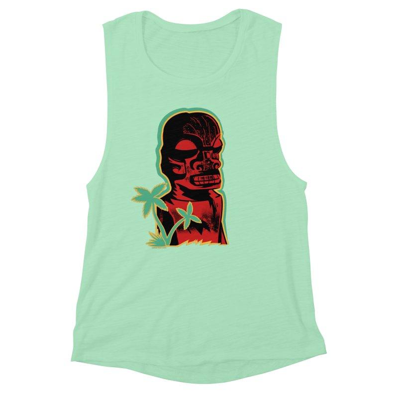 Marquesan #4 Women's Muscle Tank by Zero Street's Artist Shop