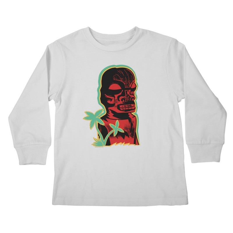 Marquesan #4 Kids Longsleeve T-Shirt by Zerostreet's Artist Shop