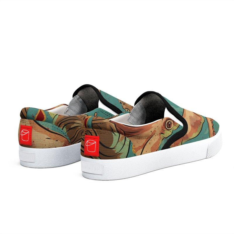Squid & Tiki Men's Shoes by Zerostreet's Artist Shop