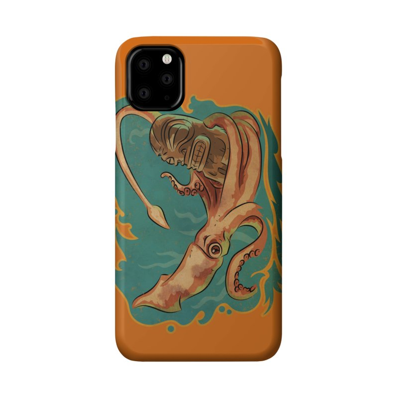 Squid & Tiki Accessories Phone Case by Zero Street's Artist Shop