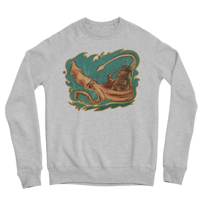 Squid & Tiki Women's Sponge Fleece Sweatshirt by Zerostreet's Artist Shop