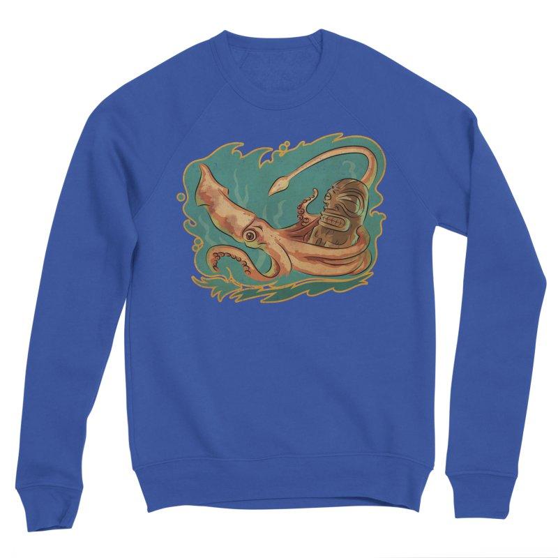 Squid & Tiki Women's Sponge Fleece Sweatshirt by Zero Street's Artist Shop