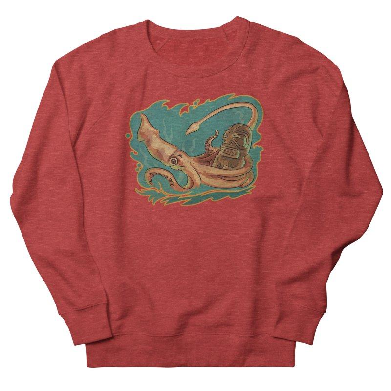 Squid & Tiki Women's French Terry Sweatshirt by Zerostreet's Artist Shop