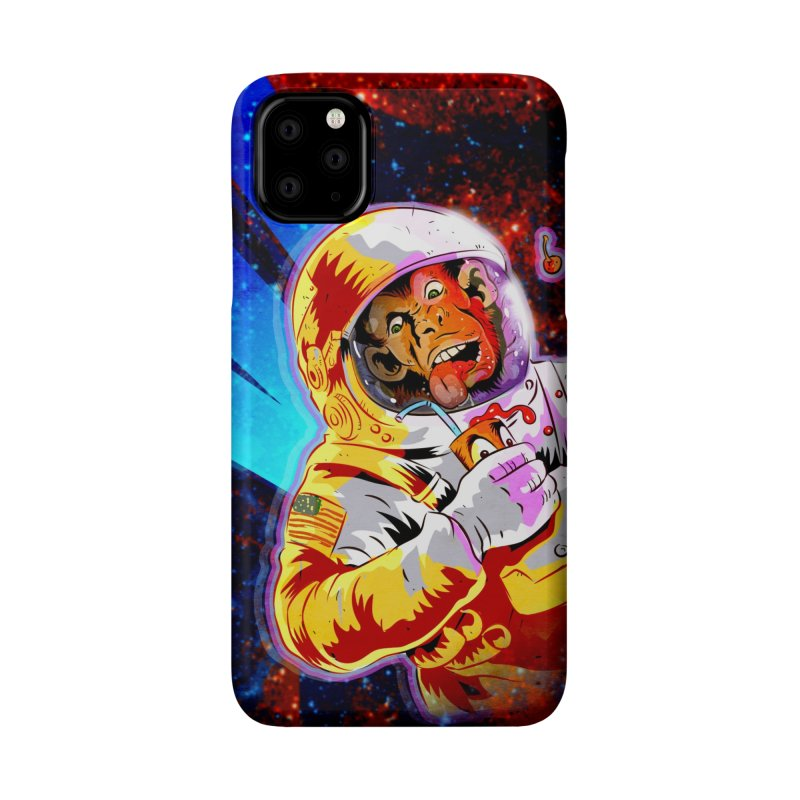 SPACE CHIMP Accessories Phone Case by Zerostreet's Artist Shop