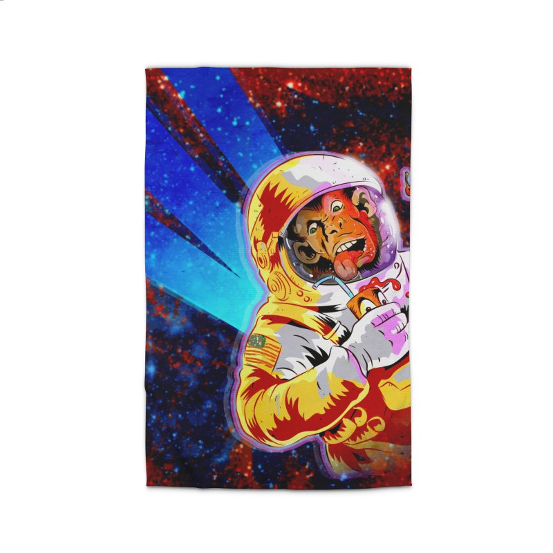 SPACE CHIMP Home Rug by Zerostreet's Artist Shop
