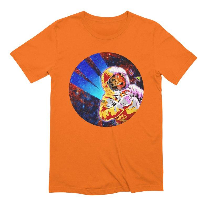 SPACE CHIMP Men's Extra Soft T-Shirt by Zerostreet's Artist Shop