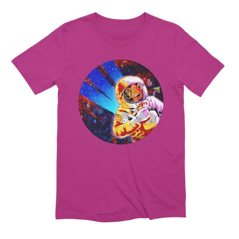 SPACE CHIMP Men's Extra Soft T-Shirt by Zero Street's Artist Shop