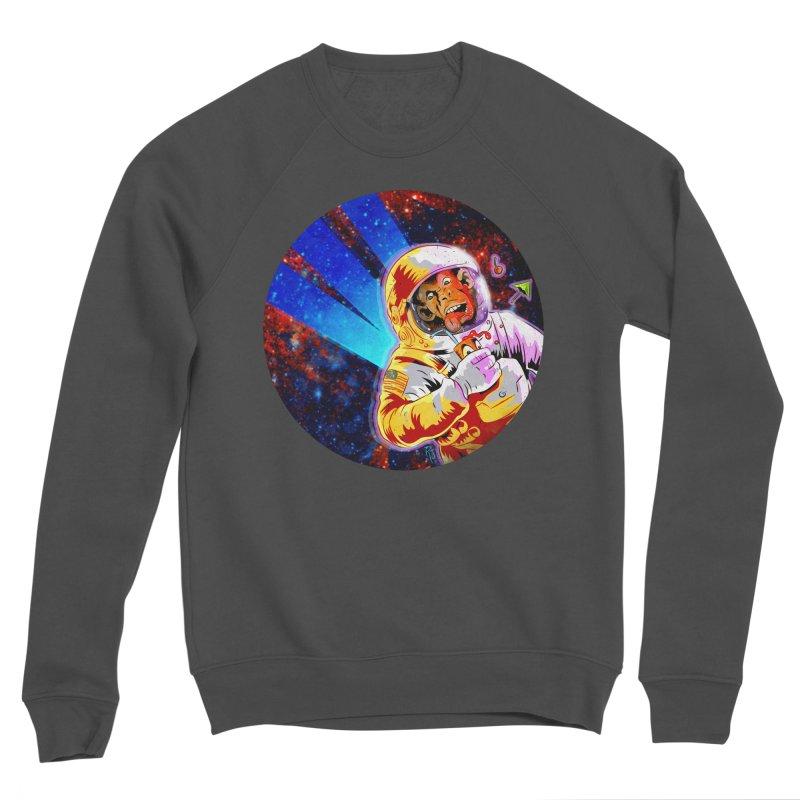SPACE CHIMP Women's Sponge Fleece Sweatshirt by Zerostreet's Artist Shop