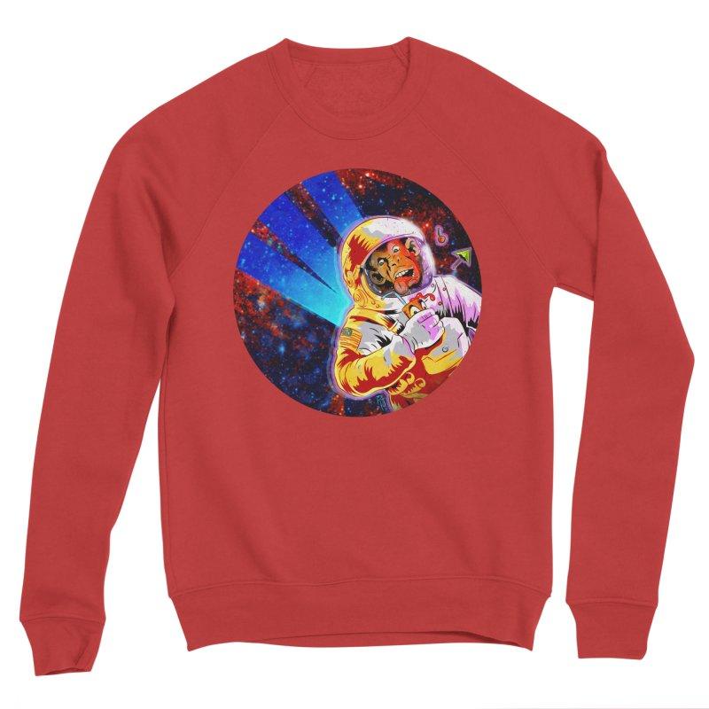 SPACE CHIMP Women's Sponge Fleece Sweatshirt by Zero Street's Artist Shop