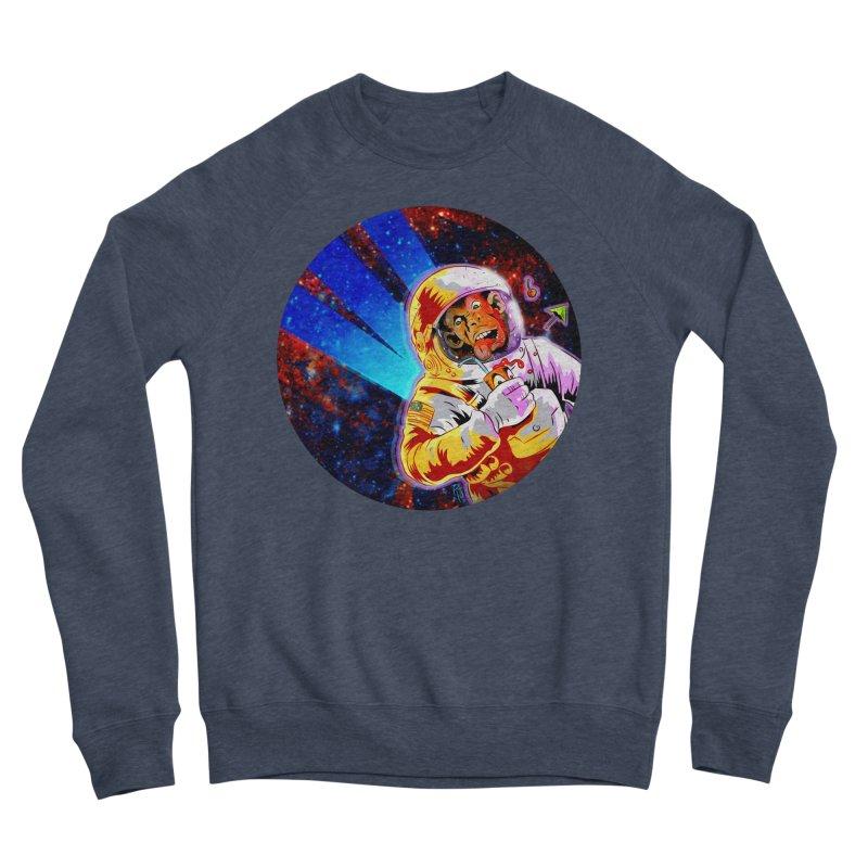 SPACE CHIMP Men's Sponge Fleece Sweatshirt by Zero Street's Artist Shop