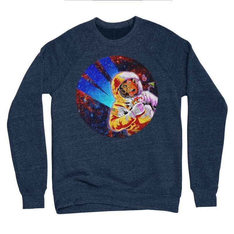SPACE CHIMP Men's Sponge Fleece Sweatshirt by Zerostreet's Artist Shop