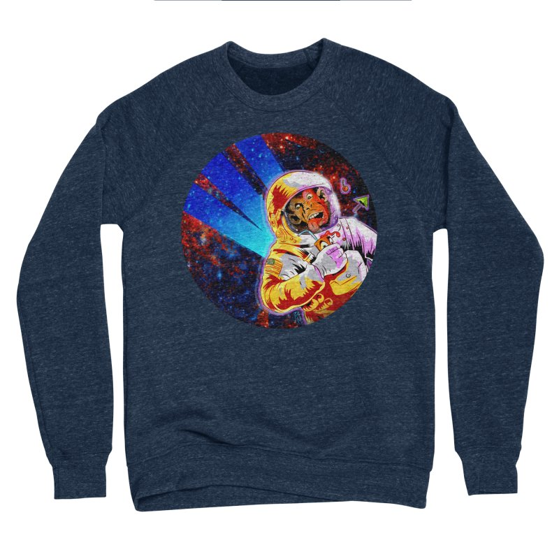 SPACE CHIMP Women's Sponge Fleece Sweatshirt by Zerostreet's Artist Shop