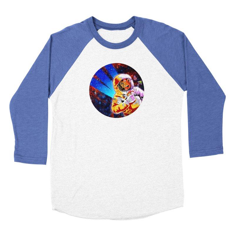 SPACE CHIMP Women's Baseball Triblend Longsleeve T-Shirt by Zerostreet's Artist Shop