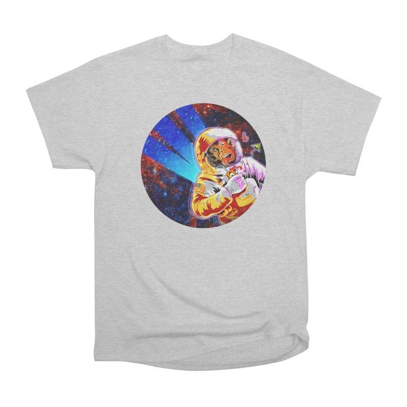 SPACE CHIMP Women's Heavyweight Unisex T-Shirt by Zero Street's Artist Shop