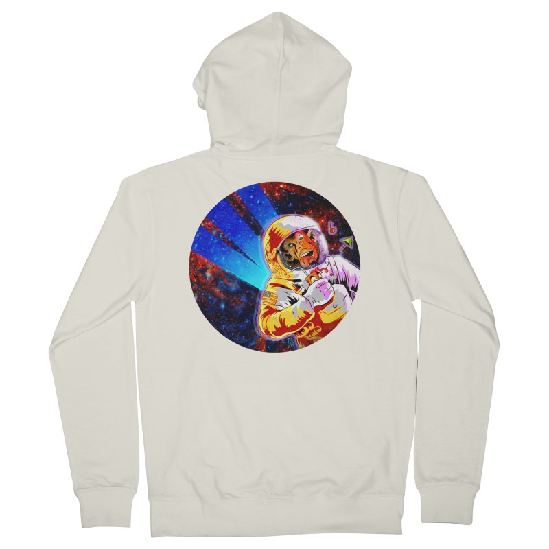 SPACE CHIMP Women's French Terry Zip-Up Hoody by Zero Street's Artist Shop