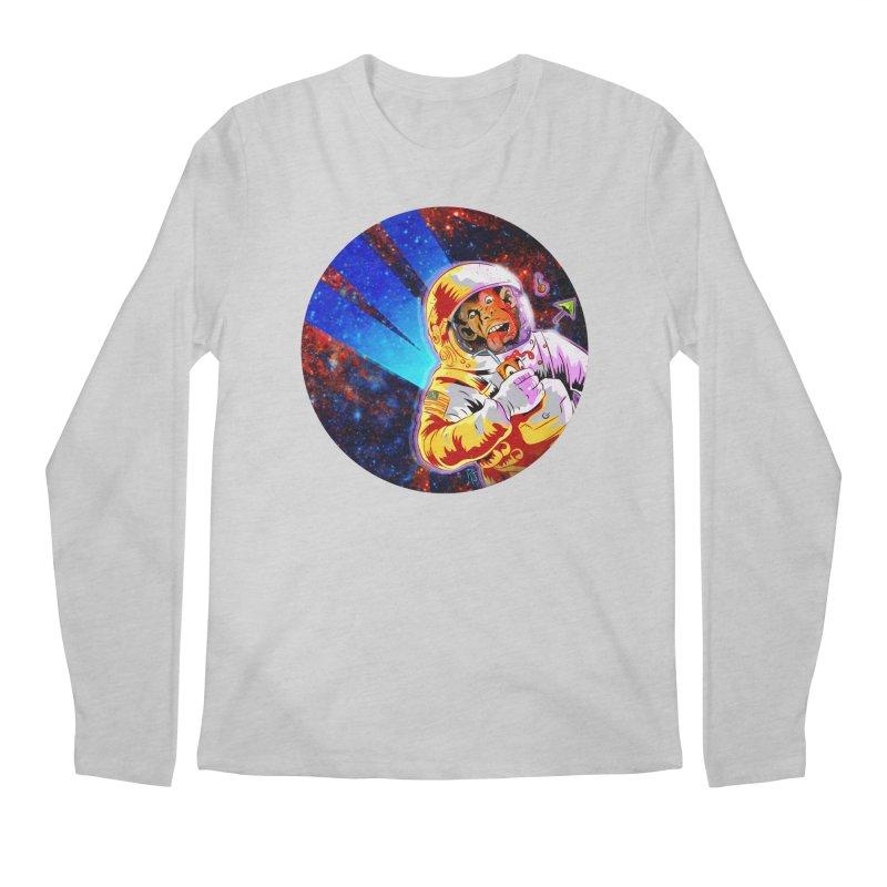 SPACE CHIMP Men's Regular Longsleeve T-Shirt by Zerostreet's Artist Shop