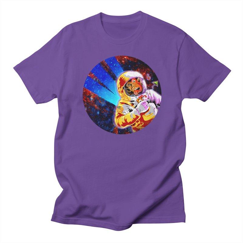 SPACE CHIMP Men's Regular T-Shirt by Zerostreet's Artist Shop