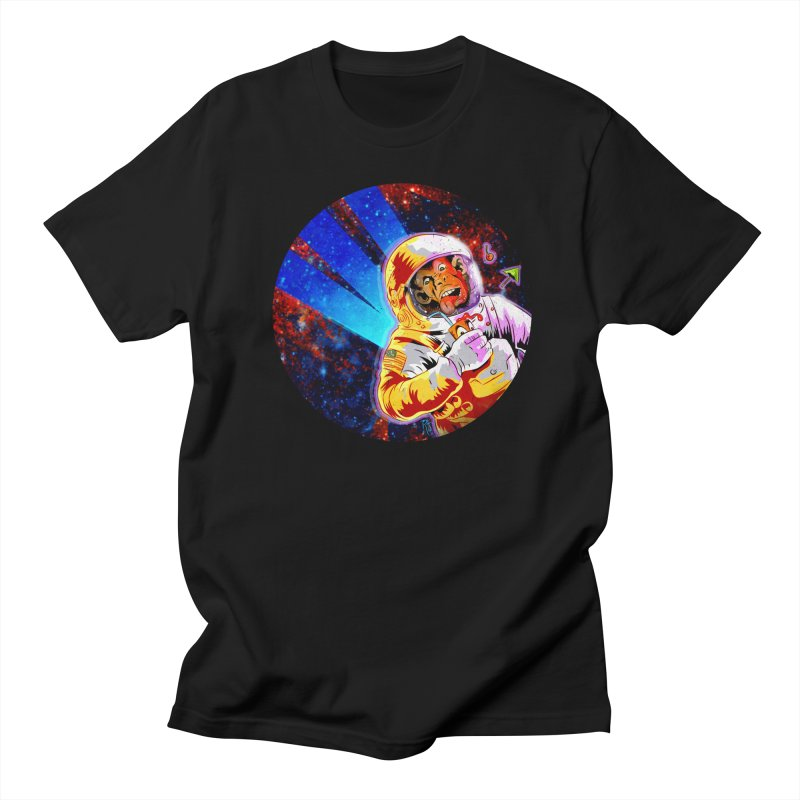 SPACE CHIMP Men's Regular T-Shirt by Zerostreet's Artist Shop