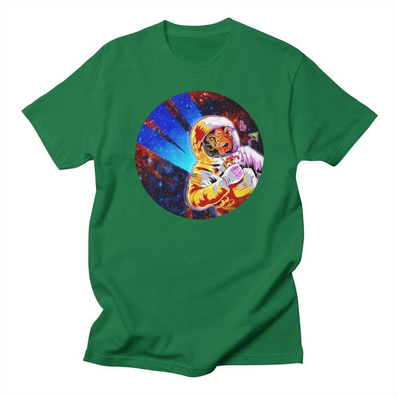 SPACE CHIMP Men's Regular T-Shirt by Zero Street's Artist Shop