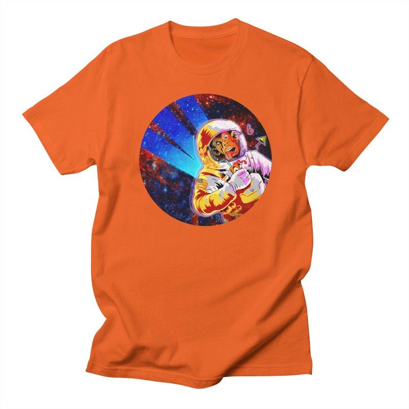 SPACE CHIMP Women's Regular Unisex T-Shirt by Zerostreet's Artist Shop