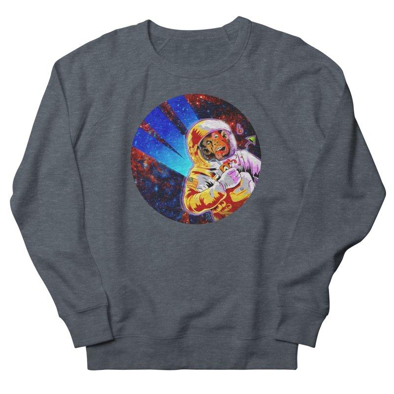 SPACE CHIMP Women's French Terry Sweatshirt by Zerostreet's Artist Shop