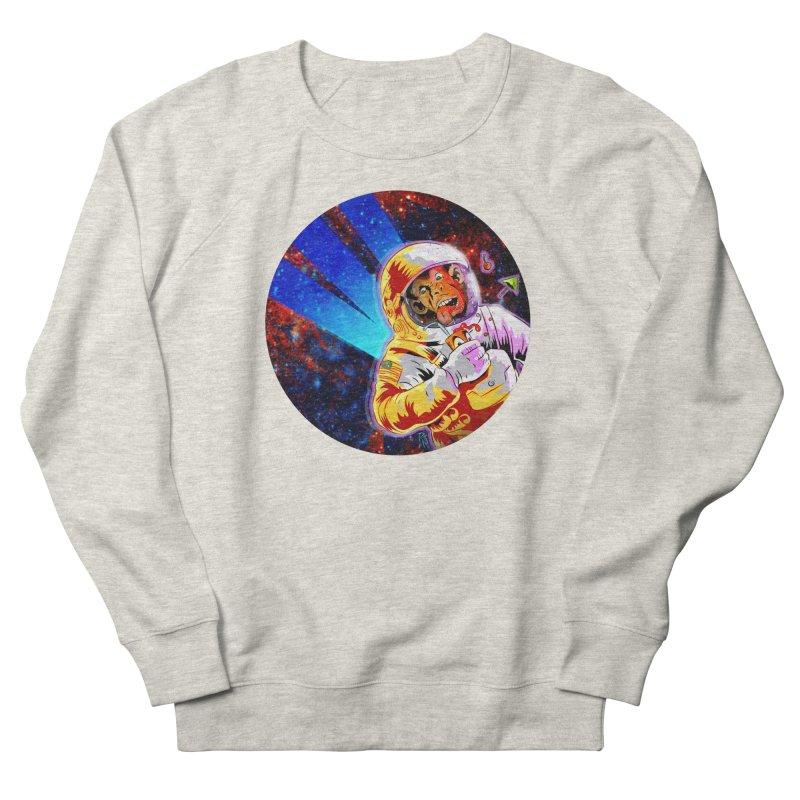 SPACE CHIMP Men's French Terry Sweatshirt by Zero Street's Artist Shop