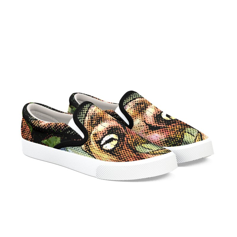 Octopus Water Tower Women's Slip-On Shoes by Zerostreet's Artist Shop